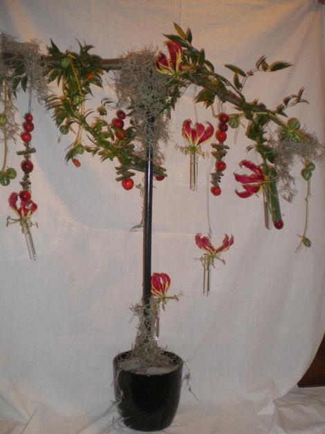 Opdracht bloemschikcursus